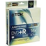 TDK 16X DVD+R Lightscribe 10 Pack