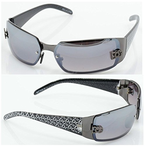 New DG Womens Fashion Designer Sunglasses Shades Rectangular Wrap - Cord Blinds Sunglasses And With