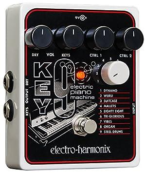 Electro Harmonix 665234 efecto de guitarra eléctrica con sintetizador Filtro Key 9 Piano Máquina: Amazon.es: Instrumentos musicales