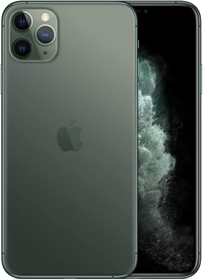 Apple iPhone 11 Pro, 64GB, Midnight Green - For T-Mobile (Renewed)