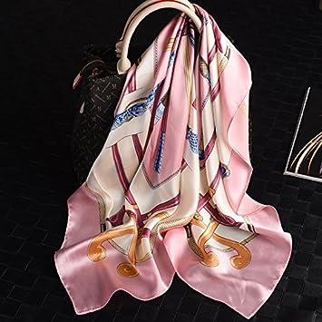 Pañuelo de seda seda toalla femenina Hangzhou pañuelo de seda luz de Verano: Amazon.es: Deportes y aire libre