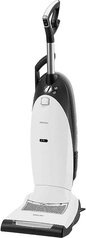 Miele Dynamic U1 Powerline Upright Bagged Vacuum Cleaner, White