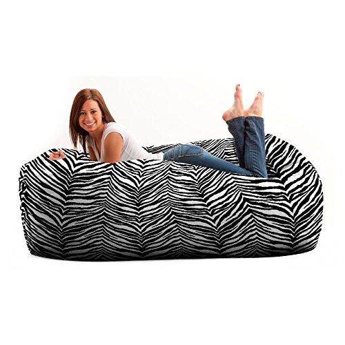 FUF Chair 6 ft. Zebra, Twill Fabric