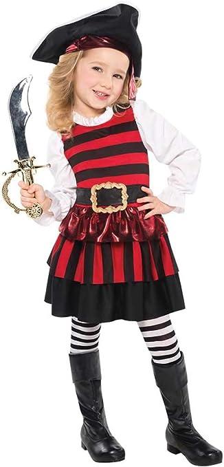 disfraz de disfraces de niña pequeña pirata semana del libro Edad ...