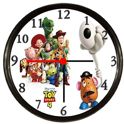- Quartz Toy Story 4 Woody Buzz Lightyear Wall Clock