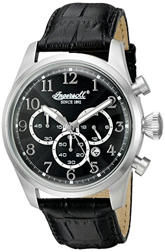Ingersoll Men's INQ 041 BKSL Pembroke Analog Display Japanese Quartz Black Watch