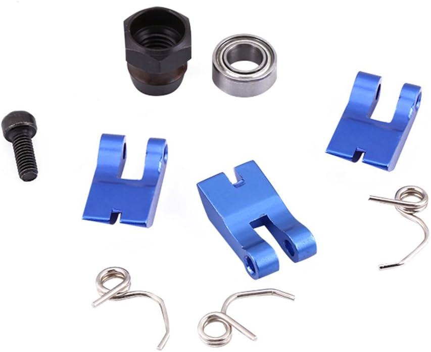RC Nitro Motor 3 Schuh Aluminium Kupplung mit Feder Hellblau