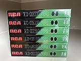 RCA T-120 HI-FI Stereo Standard Grade VHS 6 Pack