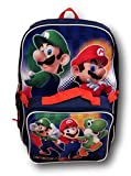 Nintendo Super Mario Bros. Backpack with Detachable Insulated Lunch Box