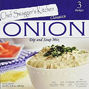 Onion Soup and Dip Mix (3 pouches/carton, 3.75 oz. per carton, Pack of 6, 18 total pouches)