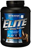 Dymatize Nutrition Elite Whey Protein, Rich Chocolate, 5 Pound