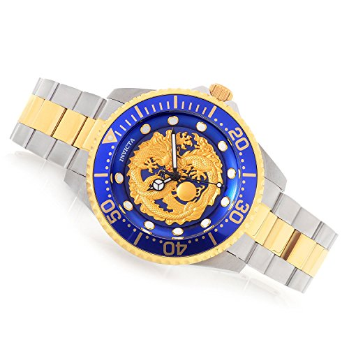 Invicta Men's 47mm Grand Diver Dragon Automatic Stainless Steel Bracelet Watch