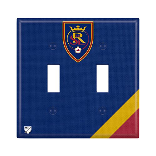 Real Salt Lake Double Toggle Light Switch Cover MLS by Keyscaper