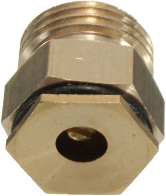 1/2 pulgada de latón centrífuga de agua ajustable pulverizador atomizador boquilla
