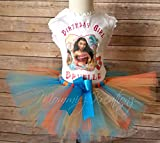 Moana Personalized Birthday Tutu Set, Moana Outfit