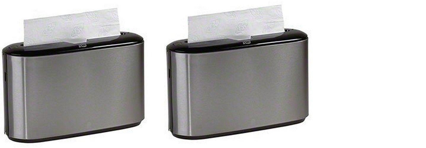 Tork Xpress Countertop Multifold Hand Towel Dispenser 302030 Stainless Steel (2 PACK)