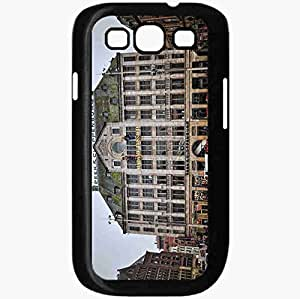 Unique Design Fashion Protective Back Cover For Samsung Galaxy S3 Case Amsterdam The Capital Of The Netherlands Black