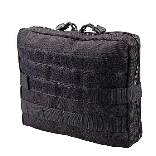 MAGARROW 9x7 Tactical Molle Pouch Compact Utility Gadget Tools Organizer Waist EDC Military Bag