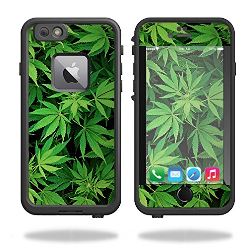 MightySkins Protective Vinyl Skin Decal for Lifeproof Fre iPhone 6 Plus / 6S Plus Case wrap cover sticker skins Weed