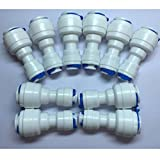 quick connect water fittings - YZM Quick Connect fittings RO Water Filters set of 10 (straight,1/4