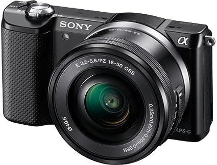 Sony A5000 - Cámara réflex Digital de 20.1 MP (Pantalla articulada ...