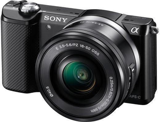 Sony ILCE-5000LW - Cámara EVIL de 20.1 Mp (pantalla articulada 3 ...