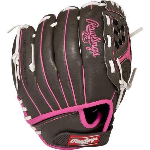 Rawlings 社製 ソフトボール用グローブ Storm Youth シリーズ B01H723DP2Grey Pink 10
