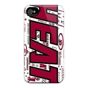 AlissaDubois iPhone 6 plus 5.5 Shock Absorbent Hard Phone Cases Customized Nice Miami Heat Pattern [JrT10690pGzU]