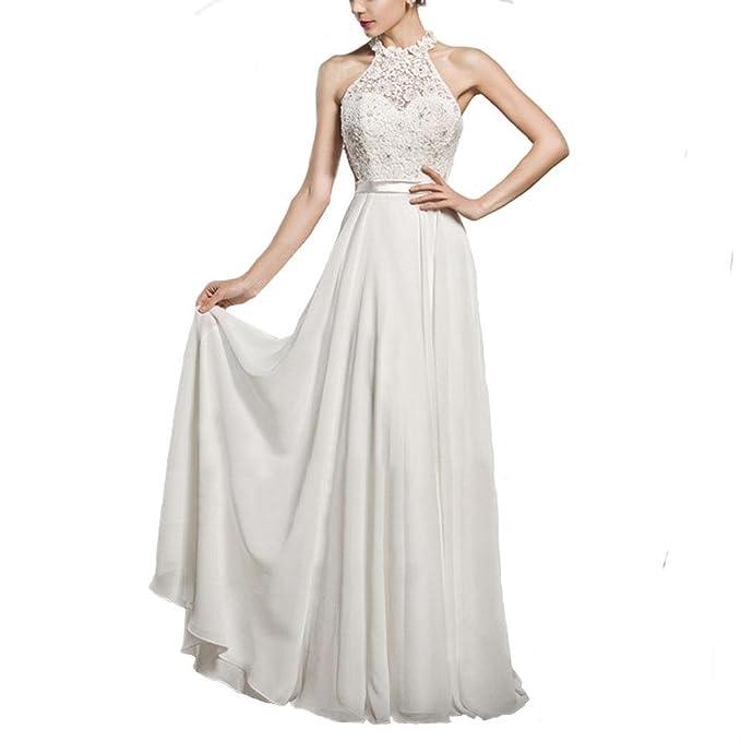 Las nuevas faldas de las mujeres de otoño e invierno vestido de noche de gama alta SSLW vestido de novia de cuello sin mangas era fino y aseado: Amazon.es: ...