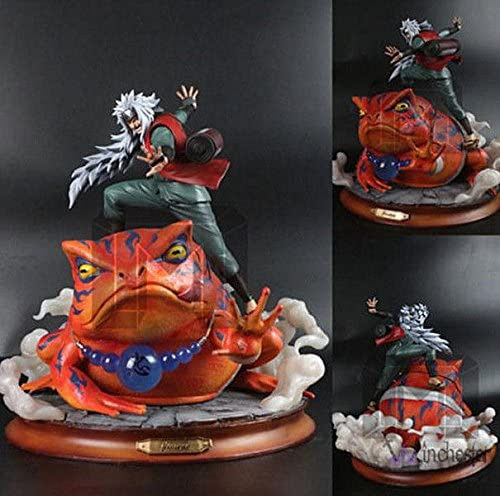 NARUTO/ナルト/フィギア/ジライヤ/Original Model Palace NARUTO Figure Statue Resin GK Jiraiya Toy Display 14.2