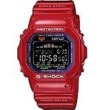 Casio Men's GWX5600C-4 G-Shock G-LIDE Red Resin Digital Watch, Watch Central