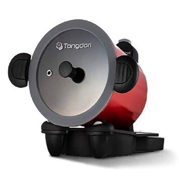 Homeace Tongdori Horno HT-2000 Asador giratorio automático asar barbacoa interior para estufa de gas 13.7 pulgadas x 11.8 pulgadas x 10.2 pulgadas, ...
