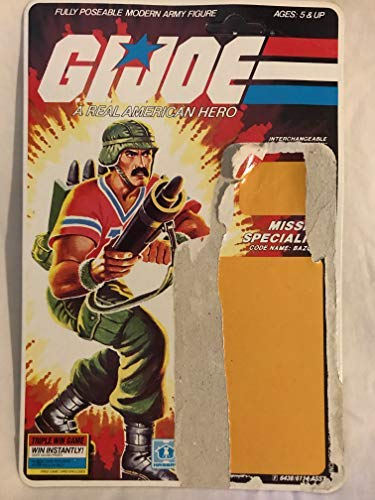 "Vintage 1985 G.I. JOE 3 3/4"" Action Figure Bazooka"