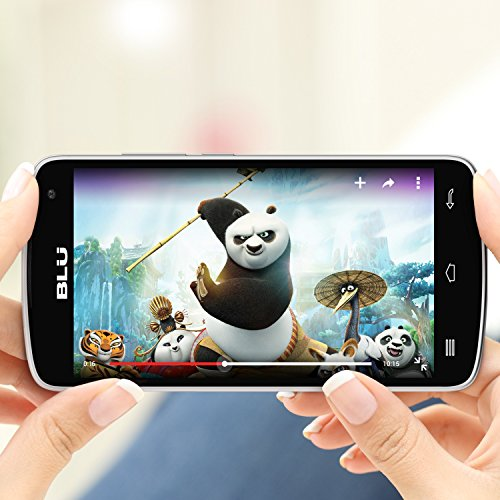 BLU Studio X8 HD - 5.0'' GSM Unlocked Smartphone -White by BLU (Image #7)