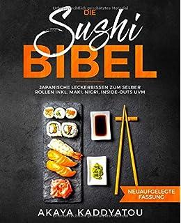 2 Paar Essst/äbchen aus Bambus 2 Schalen aus Keramik 2 Sushi-Teller Urban Lifestyle Sushi Set Misaki T/ürkis f/ür Zwei Personen