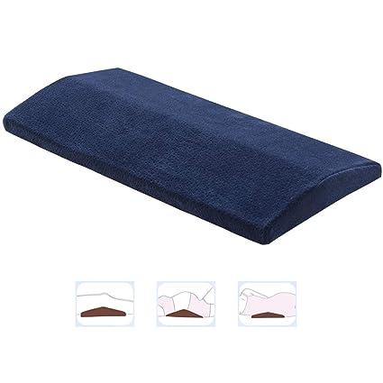 Almohada para dormir larga para aliviar el dolor de espalda, multifuncional Espuma de memoria Almohadilla