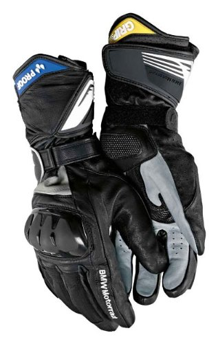 BMW Genuine Motorcycle Riding Two In One Glove 12 - 12.5 Black by BMW