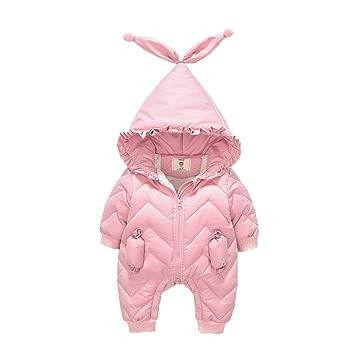 FENPING-Baby jumpsuit Mono De Bebe Pijamas De Bebe-Bebé Bata De Invierno Mameluco Femenino Saco De Dormir para Bebés Bebé Recién Nacido Ropa Corsé De 1 Año: ...