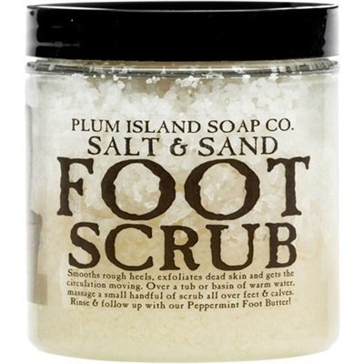 Plum Island Soap Foot Scrub - All Natural Foot Scrub made in New England