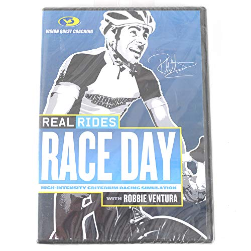 (CycleOps Vision Quest Coaching Real Rides w/Robbie Ventura DVD Race Day)