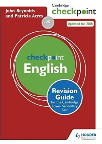 buy cambridge checkpoint english revision guide for the cambridge