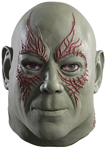 Rubie's Men's Guardians of the Galaxy Drax Costume, Gotg Vol. 2, Overhead Mask