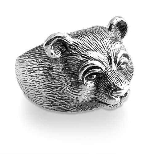 925-sterling-silver-beautiful-black-brown-bear-hollow-mens-ring-12