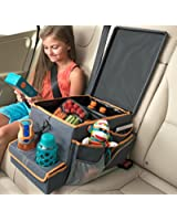 High Road Kids Car Seat Cooler and Backseat Organizer with Snack & Play Tray