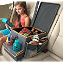 High Road Kids Car Seat Cooler and Back Seat Organizer with Snack & Play Tray
