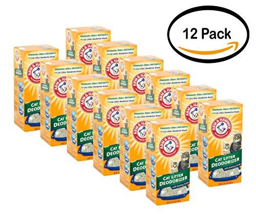 Pack of 12 - ARM & HAMMER Cat Litter Deodorizer Powder 20oz