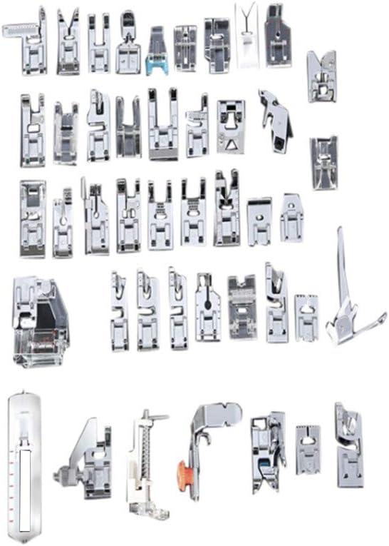 Lucog - Prensatelas para máquina de coser doméstica, 45 unidades: Amazon.es: Bricolaje y herramientas