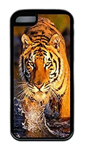 Distinct Waterproof The Tiger In The River Design Your Own iPhone 5c Case
