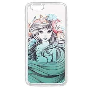 "UniqueBox Customized Disney Series Case for iPhone 6+ Plus 5.5"", The Little Mermaid iPhone 6 Plus 5.5"
