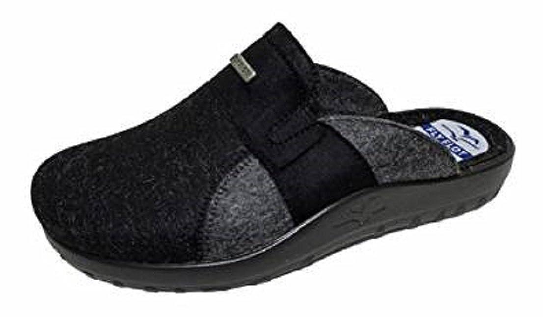 9c9540674 Fly Flot 880293 Men s Slippers Black Black Size  12.5 UK  Amazon.co.uk   Shoes   Bags